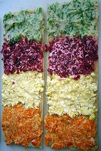 Rainbow Sandwiches Sri Lanka Recipes Malini S Kitchen
